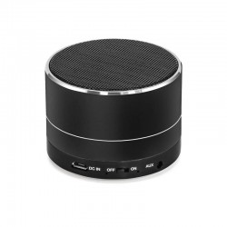 Metall, портативная Bluetooth колонка, 3 Вт, AUX, металлический корпус