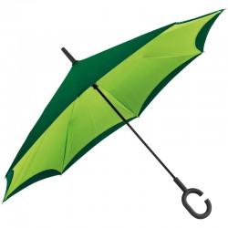 Зонт-трость с обратным складыванием