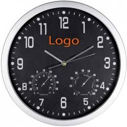 Часы с термометром и гигрометром