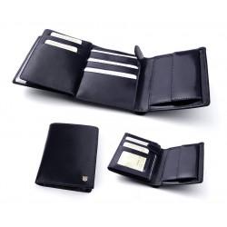 Бумажник мужской из итальянской кожи