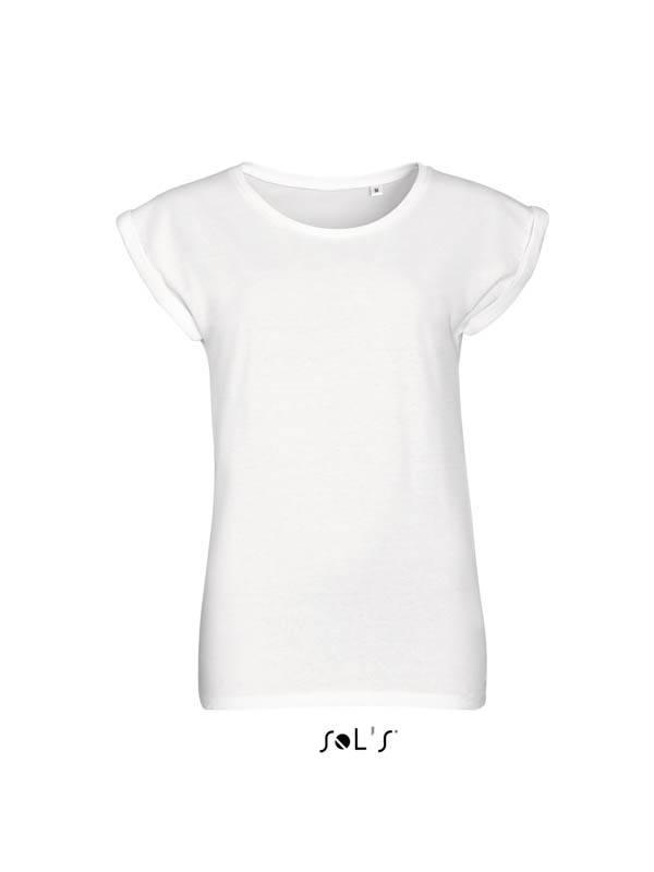 abd2b750edb65 Женская футболка с круглым воротом SOL'S MELBA