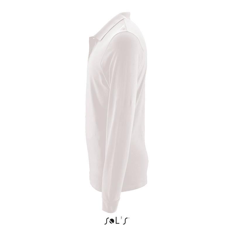 59b2b032cd368 Мужская рубашка поло с длинным рукавом PERFECT LSL MEN